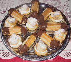 Omas Eclairs, ein raffiniertes Rezept aus der Kategorie Kuchen. Bewertungen: 51. Durchschnitt: Ø 4,4.