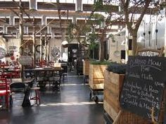 Not eveything in travel, just what you need to know. Cafe Restaurant, Restaurant Design, Coffee Restaurants, Café Bar, Old Factory, Lunch Room, Voyage Europe, Lisbon Portugal, Cafe Design