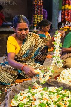 Mysore Palace Flower Shop , India