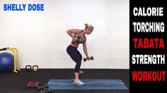 Tabata Workout, Strength Training, Full Body, Total Body, Fat Burning, Calorie Torching, at home - YouTube