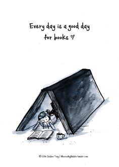 Booklover » wheresmybubble:  Books all day everyday!