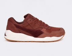 #Puma x #BWGH XS-698 - Madder Brown #sneakers