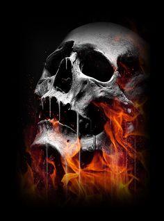 six skulls by gaaarg on deviantart skulls session pinterest