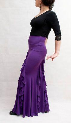 Violeta Flamenco Skirt by FlamencoBoutique1 on Etsy