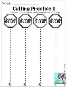 Nursery ideas preschool worksheets, cutting practice и preschool learning. Preschool Lessons, Preschool Classroom, Preschool Learning, Kindergarten Worksheets, Classroom Activities, Teaching, Worksheets For Preschoolers, Preschool Forms, Preschool Curriculum Free