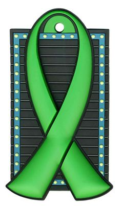 Green Ribbon...childhood depression, kidney disease and cancer, missing children, donation awareness, open records for adoptees, worker and driving safety