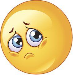 Illustration about Cute emoticon making a sad face. Illustration of color, cartoon, emoji - 18589362 Smiley Emoji, Funny Emoji Faces, Emoticon Faces, Cute Emoji, Smiley Smile, Emoticons Do Facebook, Animated Emoticons, Funny Emoticons, Emoji Images