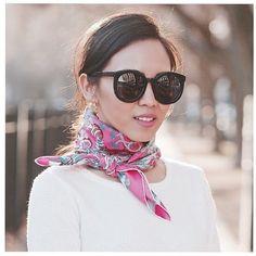 Lenço no Pescoço … Charme Fashion! | Preadly
