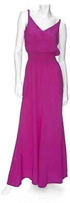ShopStyle: Jay Godfrey Twisted Strap Maxi Dress