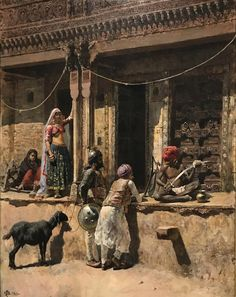 Edwin Lord Weeks (US Soldier of the Rajah at the Sword Sharpener in Ahmedabad, India Islamic Paintings, Indian Paintings, Painting Gallery, Art Gallery, Composition Painting, Ariana Grande Drawings, India Art, Historical Art, Traditional Paintings