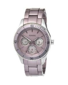 I'll get one of this! #chronograph #fossil #purple #favorite #stainless
