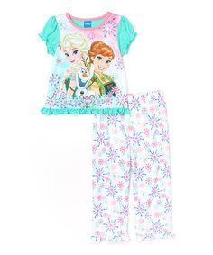 Kids Girls Unicorn Pajama Frozen Anna Elsa Long Tunic T-Shirt Swing Nightdress