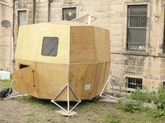 Urban Nomad Redux: Build and Live in Your Own Microhouse - I like the idea but it doesn't have to look like a cardboard mansion and a quarter-step above homelessness.  Try harder, designers.