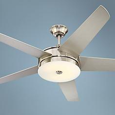 "60"" Possini Euro Design Edge Ceiling Fan"