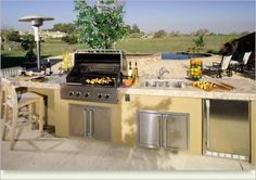 Outdoor Kitchen Cabinets Ideas