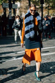 El street style adquiere otro significado si viene de la mano de Olivia Palermo