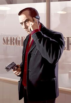 Grand Theft Auto IV Art & Pictures,  Business Call