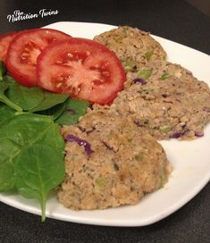 Salmon Cakes with Chia and Lemon Zest | Easy, Delicious | Great, Fast Weeknight Dinner | Healthy & Protein Packed | For MORE RECIPES please SIGN UP for our FREE NEWSLETTER www.NutritionTwins.com