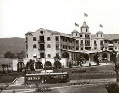 The Beverly Hills Hotel, 1920. Built by the owner of the Hollywood Hotel.
