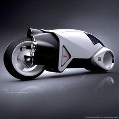 Cosmic Motors By Daniel Simon (TRON?)