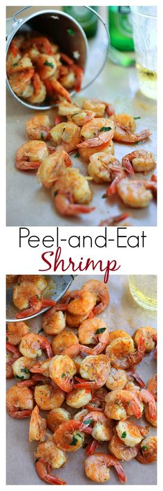 Peel and Eat Shrimp - amazing shrimp dish for the entire family or dinner parties. Easy peasy recipe that anyone can make | rasamalaysia.com