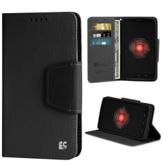 Premium 2-Layer Protection Luxury PU Leather Folio Flip Cover Wallet Phone Case With Stand For Motorola Droid Ultra/Maxx XT1080/M  Black/Black  Retail Packaging - https://twitter.com/cellphonetip/status/589654739626909696