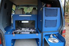 Rear kitchen in VW T5