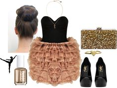 Ballet inspired outfit by annams, via Polyvore