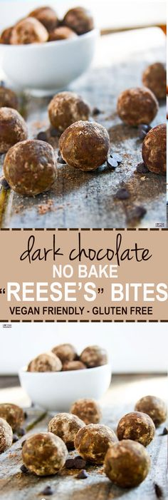Healthy Recipes : Illustration Description grain free dark chocolate cocoa Reese's protein bites recipe! a superfood snack that's delicious, no bake, and protein packed! Real food ingredients that taste REAL GOOD! friendly -Read More – Superfood Recipes, Healthy Dessert Recipes, Raw Food Recipes, Gluten Free Recipes, Sweet Recipes, Snack Recipes, Keto Desserts, Delicious Recipes, Yummy Food