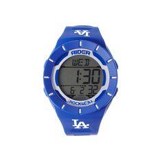 Men's Rockwell Los Angeles Dodgers Coliseum Digital Watch, Blue