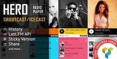 Hero v1.4.1  Shoutcast and Icecast Radio Player With History  Visual Composer Addon  Blogger Template