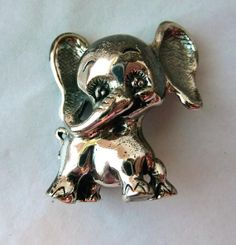 Vintage Tortolani Elephant Brooch by thejewelseeker on Etsy, $45.00
