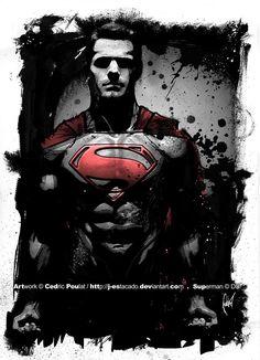 DC COMICS: SUPERMAN by J. Estacado