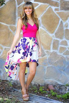 Spoil Yourself Dress: Magenta