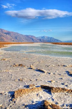 Devil's Speedway, Salt Flats, Death Valley National Park, California by James Marvin Phelps