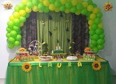 A festa de aniversário dos nossos filhos é algo que gostamos de planear e preparar com muito carinho.  Foi na festa do primeiro aniversário da minha filha, no ano passado, que descobri uma nova paixão: a de organizar festinhas de aniversário infantis.