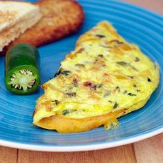 Our everyday life: Jalapeno cheese omelette Healthy Omelette, Breakfast Omelette, Breakfast Desayunos, Breakfast Ideas, Cheese Omelette, Omelette Recipe, Omelette Ideas, Healthy Breakfast Options, Breakfast Recipes
