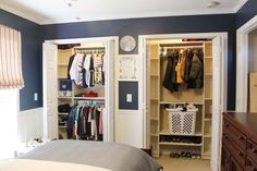 our under 100 closet system ikea hack, closet, shelving ideas, Two closets for around 160