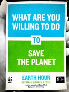 Spider-Man is the the first superhero ambassador for Earth Hour, the global movement organised by WWF. This year Earth Hour launched Earth Hour Blue, a digit. Our Planet, Save The Planet, Planet Earth, Earth Hour, Earth Day, Green Quotes, Save Our Earth, Campaign Posters, Environmental Issues