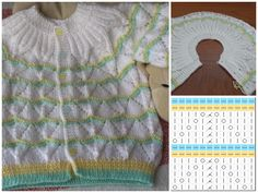 Needlework, Origami, Babies, Knitting, Women, Types Of Tissue, Finger Knitting, Green Wool, Baby Sweaters