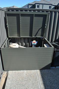 Pool Blanket Boxes | Pool Storage Boxes | Pool Idea | Pinterest | Pool  Storage Box, Pool Storage And Blanket Box