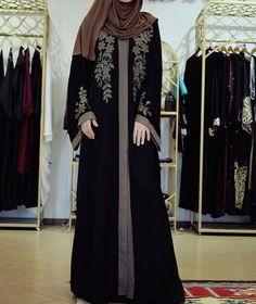 Niqab Fashion, Modern Hijab Fashion, Muslim Fashion, Modest Fashion, Fashion Dresses, Maxi Dresses, Hijab Gown, Hijab Style Dress, Hijab Outfit