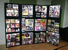 An organized version of a picture board