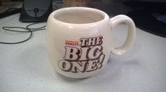 "Vintage Dunkin Donuts ""The Big One"" Bel-Terr Ceramic Coffee Mug Cup RARE  