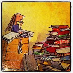 Matilda by Roald Dahl | I can totally relate!