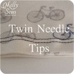 twin needle and other tips