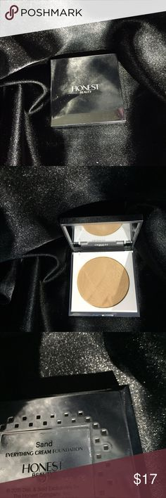 Honest beauty cream foundation Color sand 100% full This has been disinfected with alcohol Makeup Foundation