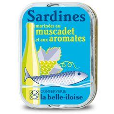 Sardines marinées au muscadet et aux aromates