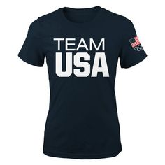 Team USA Women's Navy Coast to Coast T-Shirt