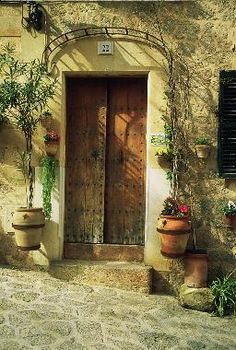 open sesame and Welcome through these doors to My Casa!